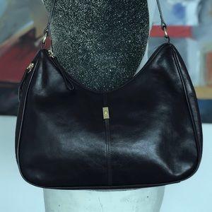 ETIENNE AIGNER   Genuine Leather Bag   Burgundy